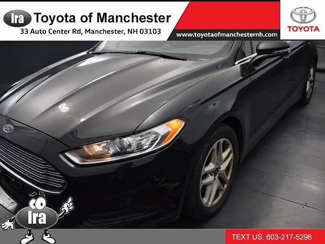 2015 Ford Fusion SE for sale in Manchester, NH