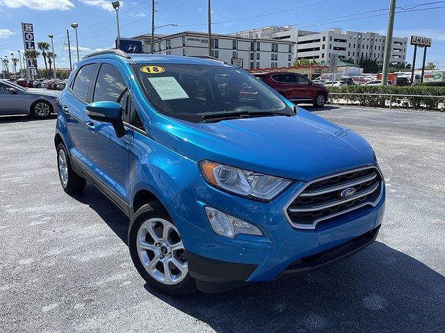 2018 Ford EcoSport SE for sale in Winter Park, FL