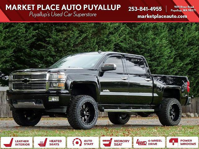 2014 Chevrolet Silverado 1500 High Country for sale in Puyallup, WA