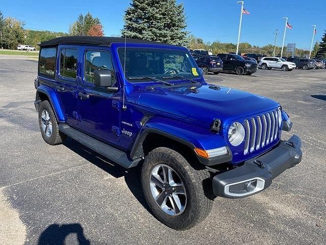 2020 Jeep Wrangler Sahara for sale in White Lake, MI