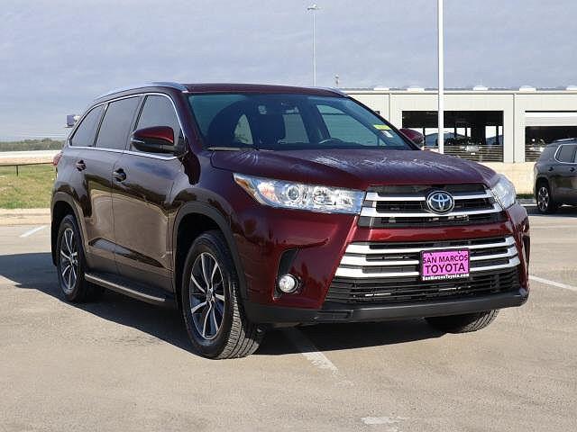 2019 Toyota Highlander XLE for sale in San Marcos, TX