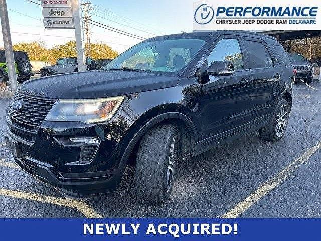 2018 Ford Explorer Sport for sale in Delaware, OH