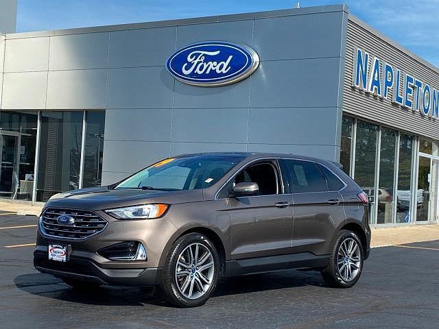2019 Ford Edge Titanium for sale in Libertyville, IL