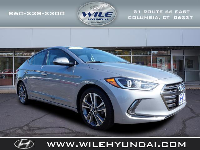 2017 Hyundai Elantra Limited for sale in Columbia, CT