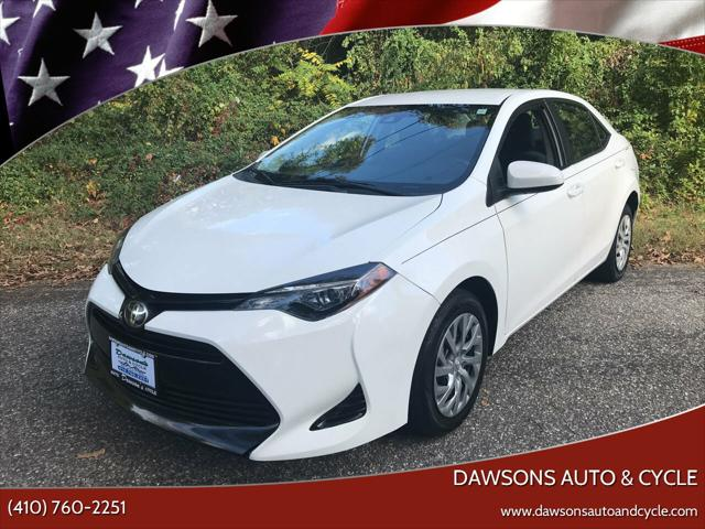 2017 Toyota Corolla LE 4dr Sedan for sale in Glen Burnie, MD