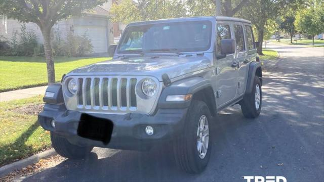 2021 Jeep Wrangler Unlimited Sport S for sale in Chicago, IL