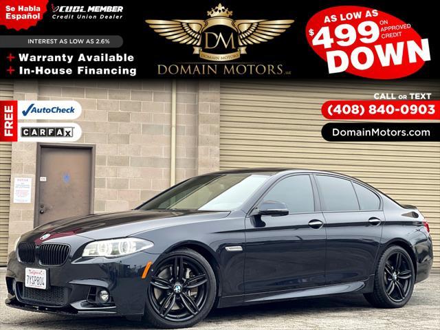 2014 BMW 5 Series 550i for sale in Santa Cruz, CA