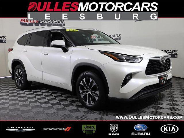 2021 Toyota Highlander XLE for sale in Leesburg, VA