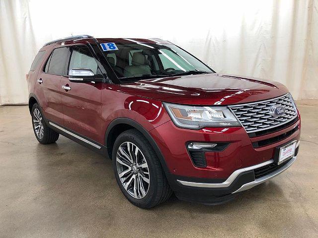 2018 Ford Explorer Platinum for sale in Barrington, IL