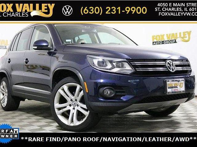 2013 Volkswagen Tiguan SEL for sale in Saint Charles, IL