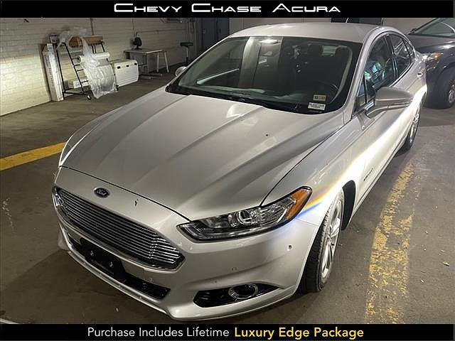 2015 Ford Fusion Titanium Hybrid for sale in Bethesda, MD