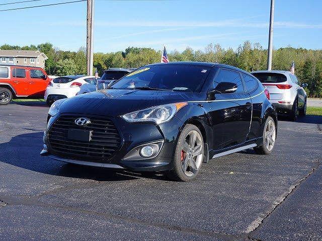 2015 Hyundai Veloster Turbo for sale in Michigan City, IN