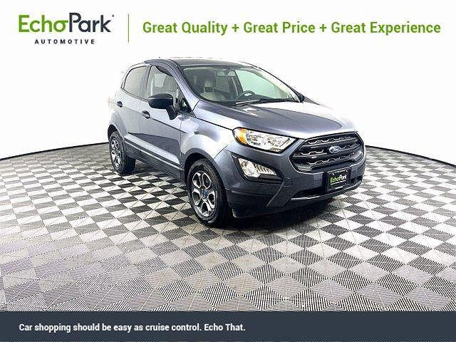 2019 Ford EcoSport S for sale in New Braunfels, TX