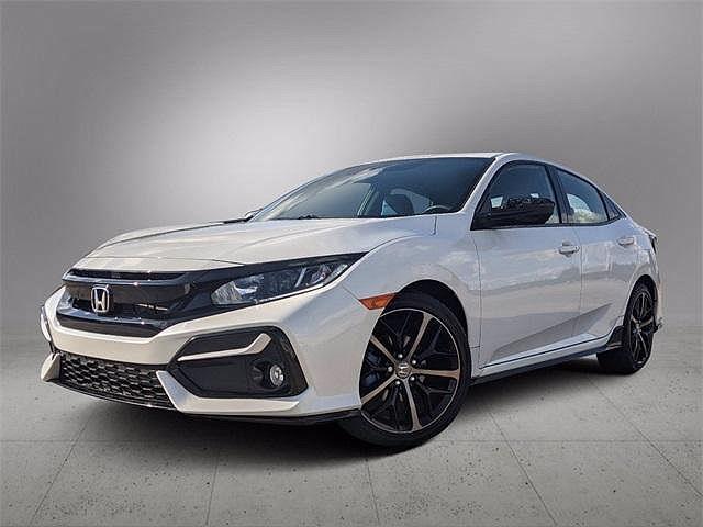 2021 Honda Civic Hatchback Sport for sale in Katy, TX