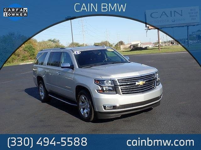 2015 Chevrolet Suburban LTZ for sale in North Canton, OH