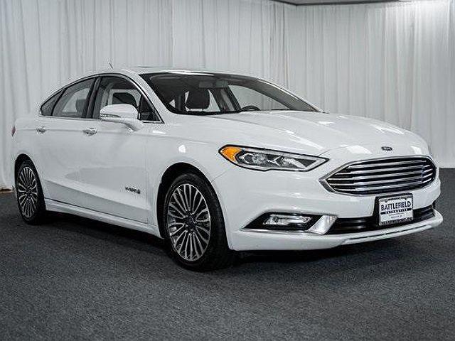 2017 Ford Fusion Hybrid Titanium for sale in Manassas, VA