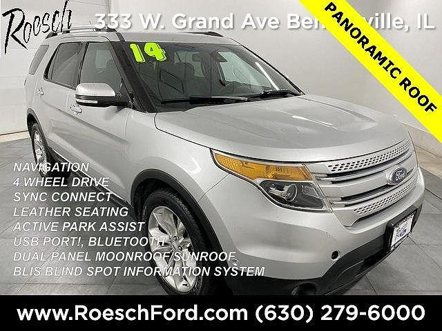 2014 Ford Explorer Limited for sale in Bensenville, IL