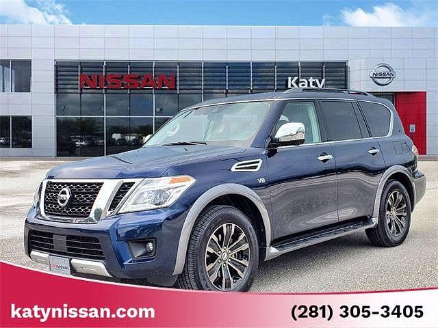 2018 Nissan Armada Platinum for sale in Katy, TX