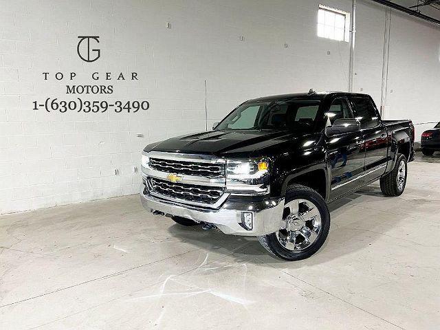 2017 Chevrolet Silverado 1500 LTZ for sale in Addison, IL