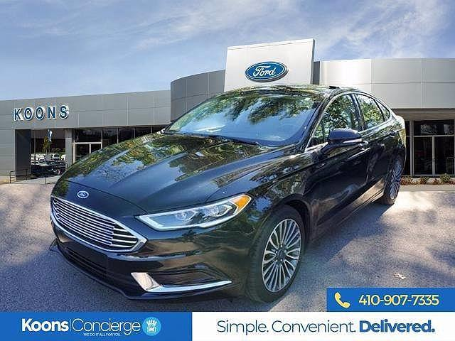 2018 Ford Fusion SE for sale in Windsor Mill, MD