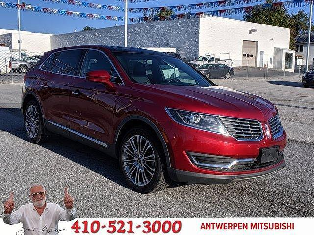 2016 Lincoln MKX Reserve for sale in Randallstown, MD