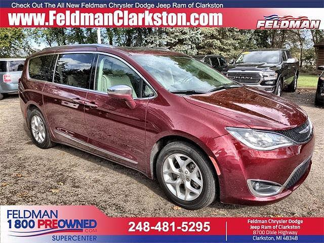 2020 Chrysler Pacifica Limited for sale in Clarkston, MI