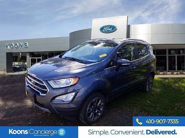 2018 Ford EcoSport Titanium for sale in Windsor Mill, MD