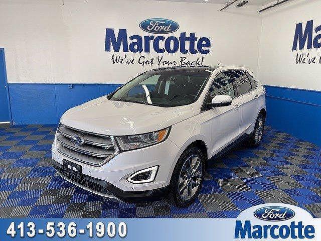 2017 Ford Edge Titanium for sale in Holyoke, MA
