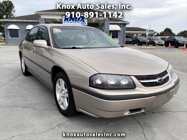 2002 Chevrolet Impala 4dr Sdn for sale in Dunn, NC