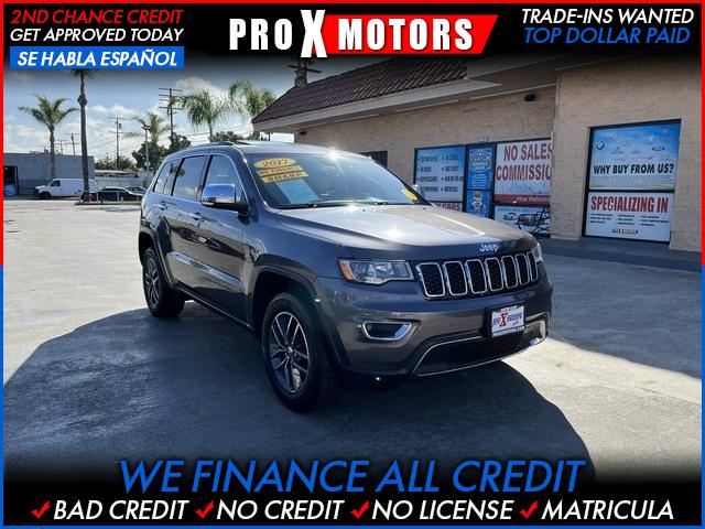 2017 Jeep Grand Cherokee Limited for sale in Bellflower, CA