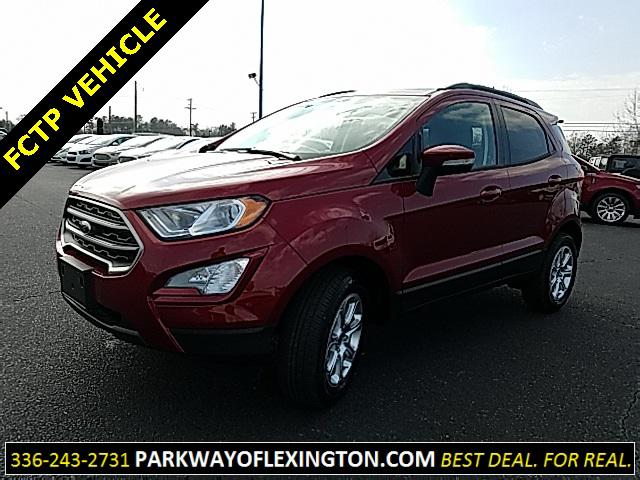 Ruby Red Metallic Tinted Clearcoat 2018 Ford Ecosport SE 4D Sport Utility Lexington NC