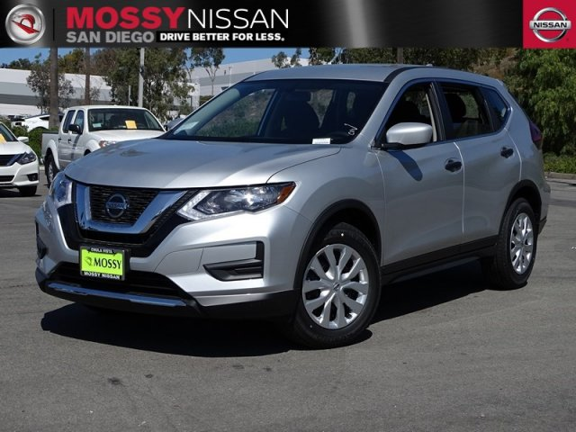 New 2018 Nissan Rogue S Sport Utility