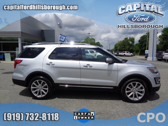 2017 Ford Explorer LIMITED Sport Utility Durham NC