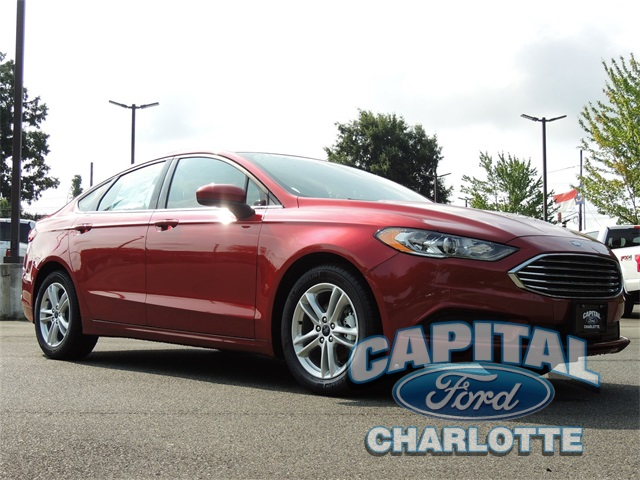 2018 Ford Fusion SE 4D Sedan Charlotte NC