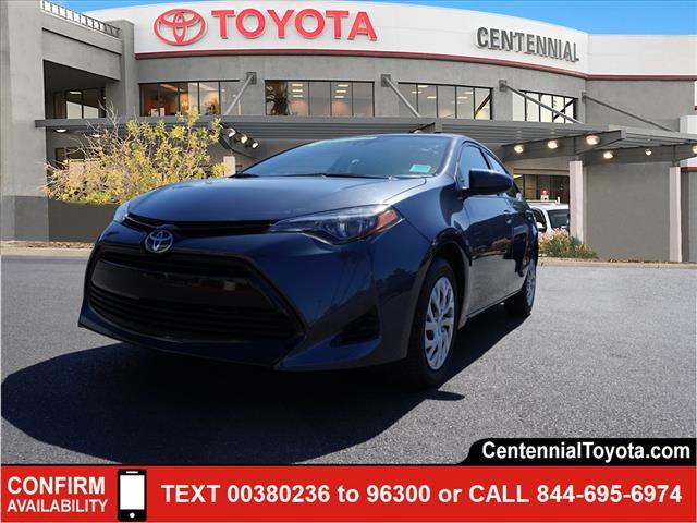 2017 Toyota Corolla LE 4dr Car Las Vegas NV