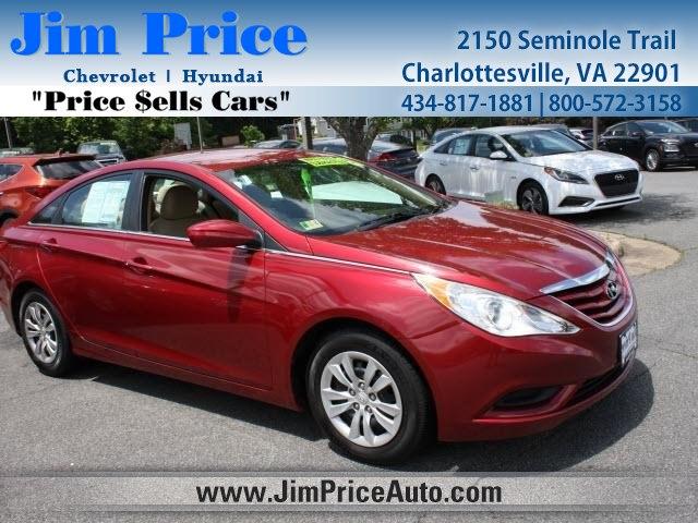 2013 Hyundai Sonata GLS 4dr Car Charlottesville VA