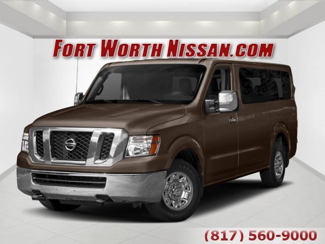 2018 Nissan NV Passenger SL Full-size Passenger Van Fort Worth TX