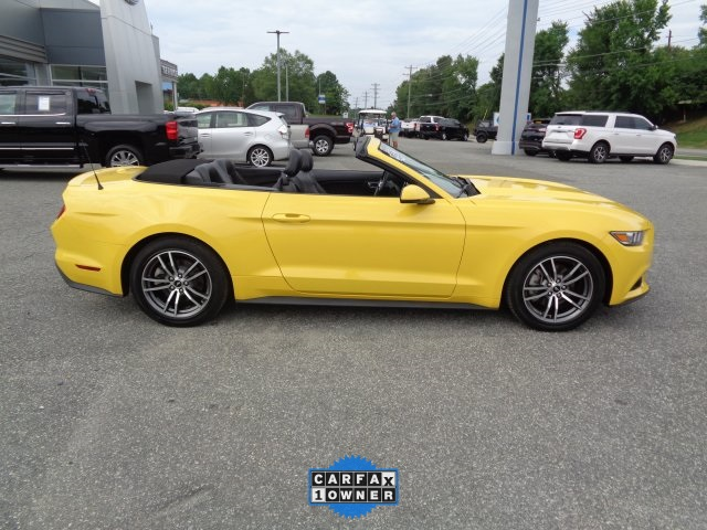 2017 Ford Mustang ECOBOOST PREMIUM Convertible Chapel Hill NC