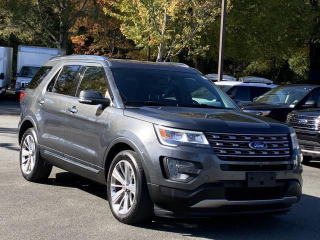 Gray 2017 Ford Explorer LIMITED 4D Sport Utility Charlotte NC