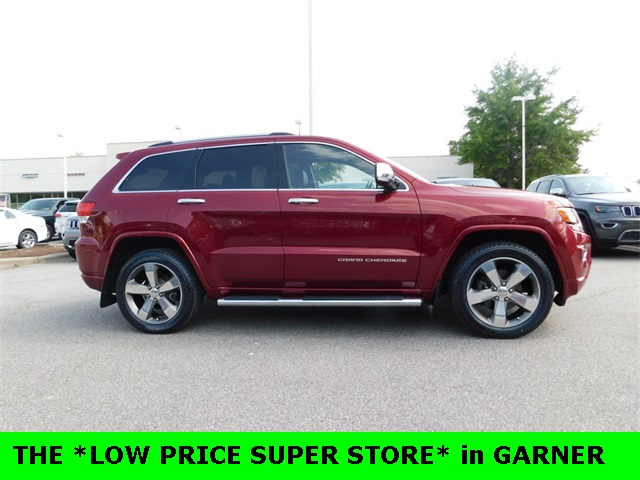 2015 Jeep Grand Cherokee OVERLAND 4D Sport Utility Raleigh NC
