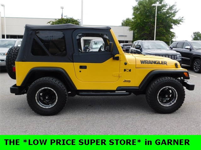 2002 Jeep Wrangler X 2D Sport Utility Raleigh NC