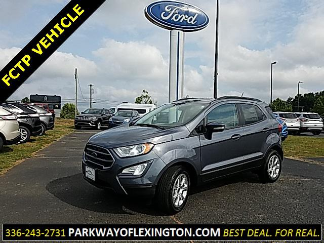 Smoke Metallic 2018 Ford Ecosport SE 4D Sport Utility Lexington NC