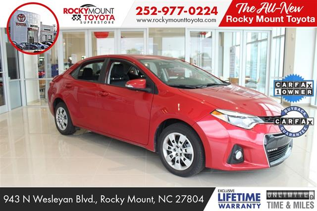 2015 Toyota Corolla L 4dr Car Rocky Mount NC