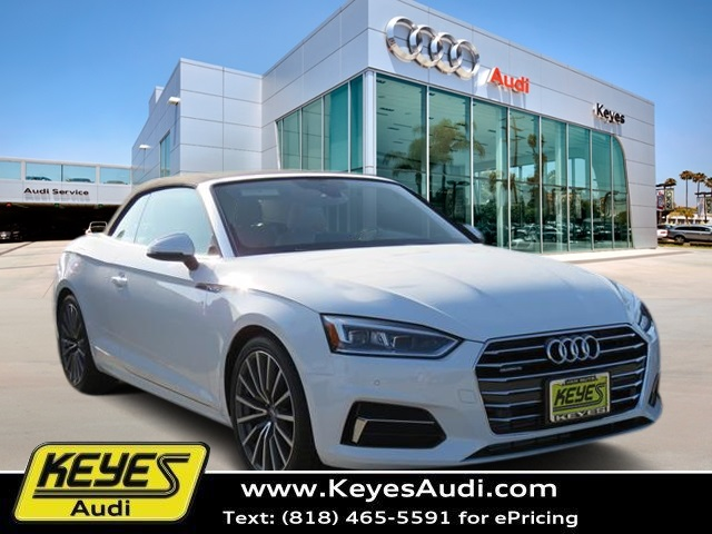 2018 New Audi A5 Cabriolet Premium Plus Convertible All Wheel Drive