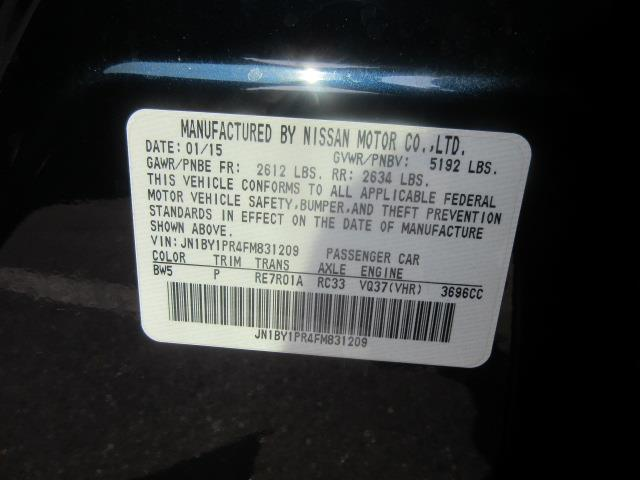 2015 INFINITI Q70L 4dr Sdn V6 AWD 27