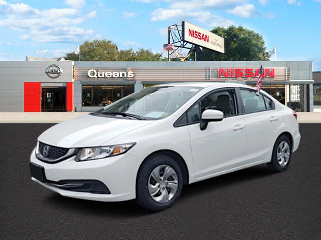Used 2014 Honda Civic Sedan LX 4 Door Compact Passenger Car