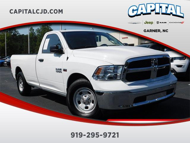 Bright White Clearcoat 2017 RAM 1500 TRADESMAN Long Bed Garner NC