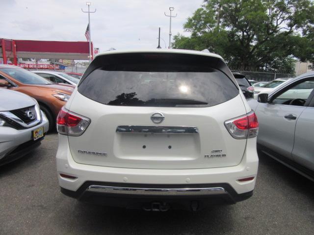 2015 Nissan Pathfinder Platinum 4