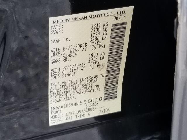 2017 Nissan Titan PRO-4X 28