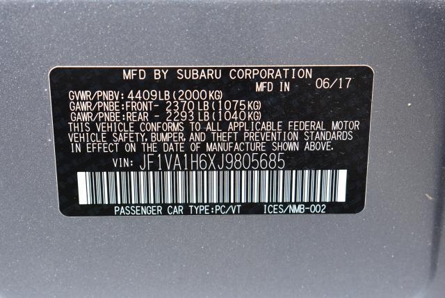 2018 Subaru WRX Limited 28